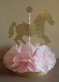 Pink And Gold Centerpieces by Resultado De Imagen Para Tiovivo Carrusel De Pañales Para Baby
