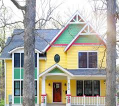 colorjinns color blog the happy yellow house of dan trachtman in