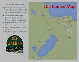 Google Map Michigan by Walker City On The Bay 10k Run Walk