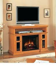 Entertainment Center With Electric Fireplace Entertainment Center W Electric Fireplace Stand Large With Insert