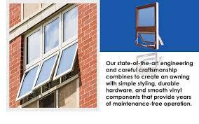 Window Awning Hardware Commercial Vinyl Awning Windows Newtec Windows