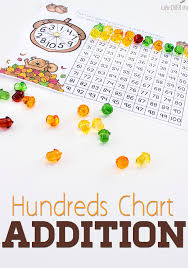 printable hundreds chart free acorn addition with hundreds chart free printable