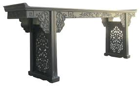 asian style sofa table asian console table antique white asian console table ericwatson me