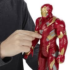 Iron Man Amazon Com Marvel Titan Hero Series Iron Man Electronic Figure