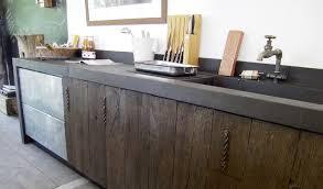 cuisine contemporaine en bois cuisine moderne bois ancien déco bois ancien