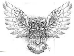 owl and heart tattoos sketch tattoo ideas
