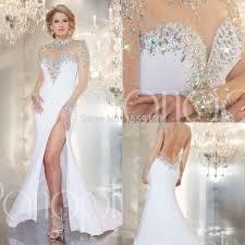 aliexpress com buy long sheer fashion prom dresses 2016 mermaid