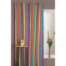 rideaux chambres enfants rideaudiscount rideau 100 coton 140 x 250 cm motif rayures