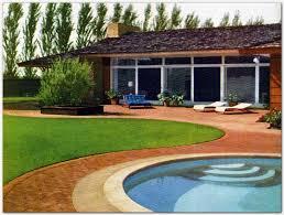 Mid Century Modern Landscaping by Mid Century Modern Landscape U0026 Outdoor Living Vintage Mid