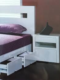 White High Gloss Queen Bedroom Suite Lynx U201d High Gloss Queen Bed U2013 White Bambino Home