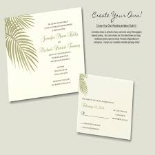 designs printable print your own wedding invitations templates