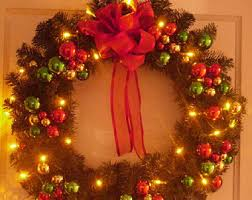 traditional wreath etsy