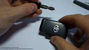 toyota car and remotes car remote key dead and need to open door what to do toyota