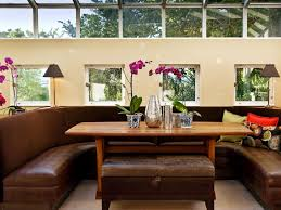 marvelous banquette seating dining room photo design inspiration