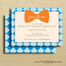little man bow tie baby shower invitations wblqual com