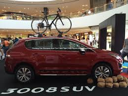 new peugeot 3008 all new peugeot 3008 launched in queensbay mall penang