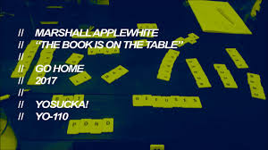 The Book Is On The Table Marshall Applewhite The Book Is On The Table Youtube