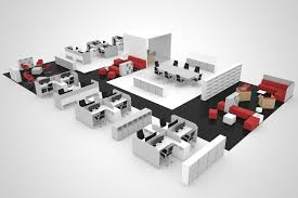 office plan 3d render u2013 cg frame 3d rendering services