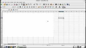Microsoft Office Spreadsheet Free Download How To Hide Grid Lines In Calc Or Excel Youtube