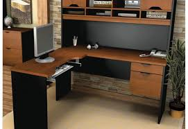 desk black l shaped gaming desk awesome l shaped gaming desk
