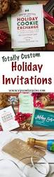 custom holiday invitations from basic invite are anything but