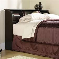 Full Size Bed Frame With Bookcase Headboard Full Size Bookcase Headboards Cymax Stores