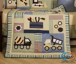 Construction Crib Bedding Set Geenny Boutique 13 Crib Bedding Set Baby Boy Constructor