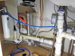 under the sink water filter installation best sink decoration