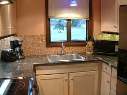 backsplash ideas for kitchen home depot glass subway tile glass