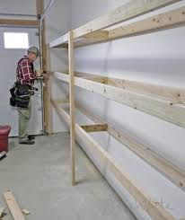 Tool Storage Shelves Woodworking Plan by Best 25 Garage Storage Shelves Ideas On Pinterest Building