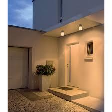 flush outdoor ceiling light for porch or under overhanging eaves