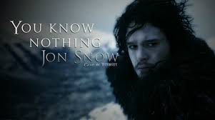 You Know Nothing Jon Snow Meme - 7 hilarious memes for those who still don t know about game of