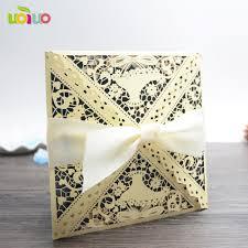 Wedding Invitation Folded Card Compare Prices On Wedding Invitations Cards Online Shopping Buy