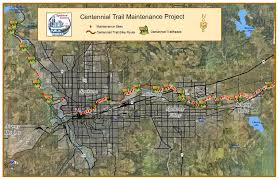 Map Of Spokane Washington Centennial Trail Maintenance Spokane County Wa