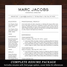 Resume Templates For Word Mac Resume Template Mac Modern Resume Cover Letter Template Editable