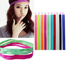 headband elastic online shop fantastic 10 colors sports elastic headband