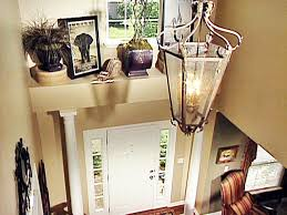 how to decorate a foyer in a home adding character to a foyer diy