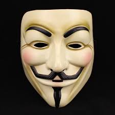 v for vendetta mask face fancy dress halloween costume accessories