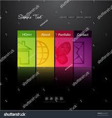 modern web design modern web design template stock vector 84444781