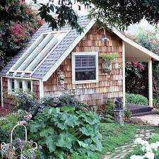 Backyard Guest Cottage Garden Shed Backyard Landscaping Yard Ideas Guest House
