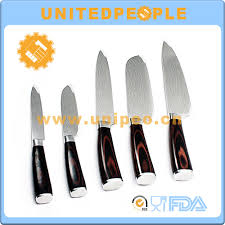 swiss knives kitchen swiss line 5 piece kitchen knife set damascus steel knives