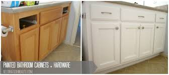 Kitchen And Bathroom Cabinets Restoration Beauty Painted Bathroom Cabinets Hardware
