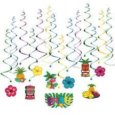 Hawaian Decorations Hanging Decoration Party Decorations Ebay