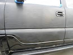 paint color sanding shown by the car detailing expert
