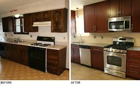 cheap kitchen remodel ideas before and after galley kitchen remodel before and after on a budget