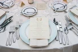 place settings reception décor photos sophisticated place setting inside weddings