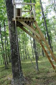 2 Person Deer Blind Plans Build Wood Ladder Stand Ohio Woodworking Expo