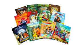disney classic books with moving image covers 12 book set groupon