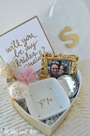 gifts to ask bridesmaids to be in wedding 10 creative ways to ask will you be my bridesmaid wedding