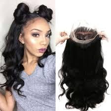 360 wave frontal natural hairline best virgin